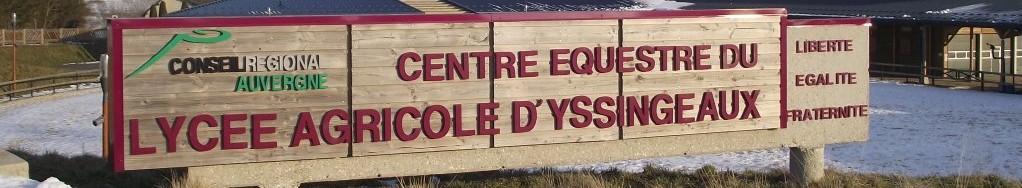 Centre équestre du lycée agricole d'Yssingeaux